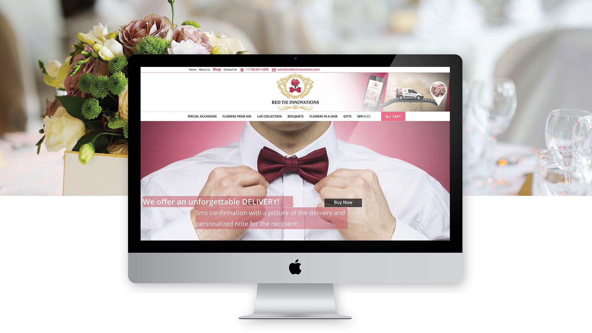 Purple Media Lucrări Red Tie Innovations Dezvoltarea Site