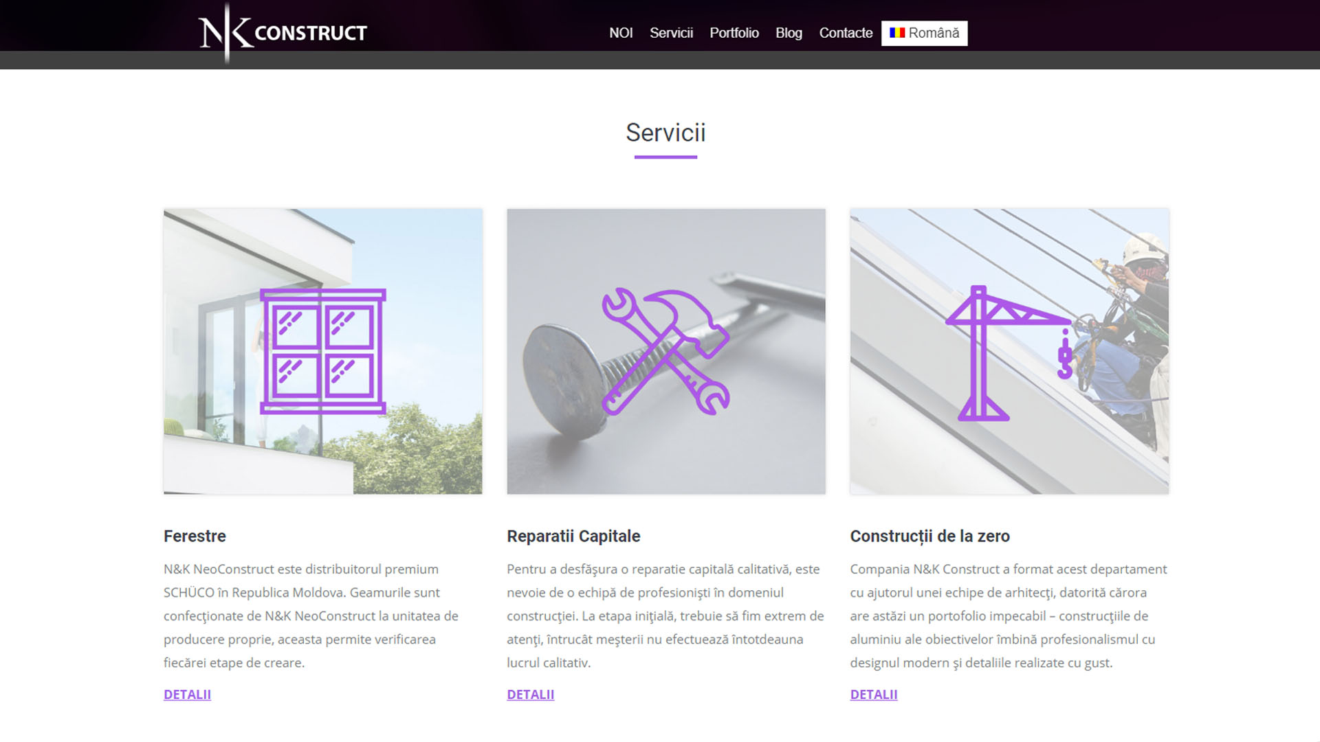 NK Construct Lucrări Purple Media