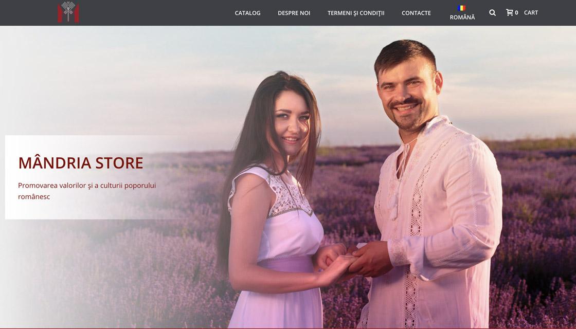 Mândria Store – brand autohton