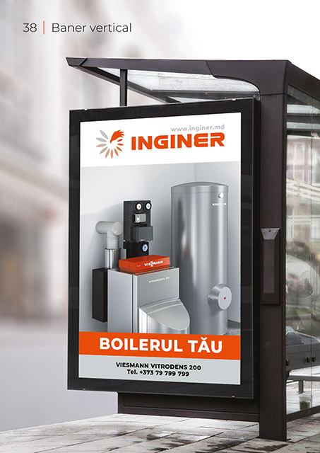 Inginer BrandBook Baner vertical
