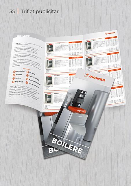 Inginer BrandBook Triflet publicitar