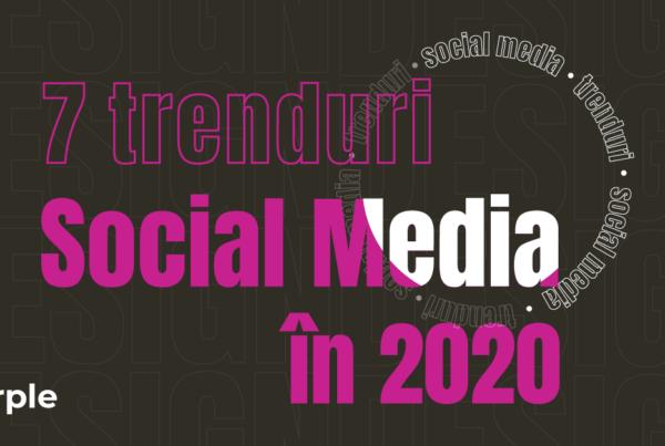 social media Purple